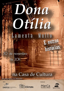 Cartaz dona otilia - Cópia
